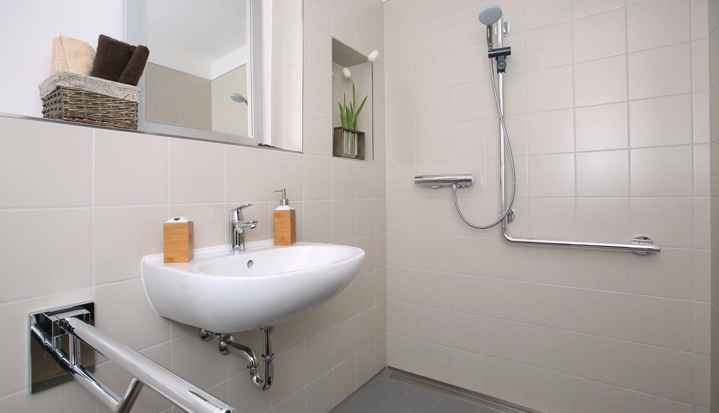 Aménagements PMR Béziers salle de bain